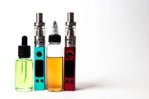 vape liquid in bottles