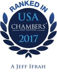 Jeff Ifrah Chambers Ranking 2017