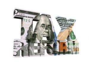 Tax Reform Dollar Isolated