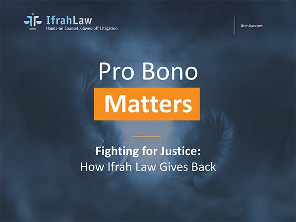 pro bono matters cover image