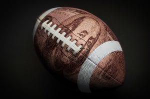 one hundred dollar football
